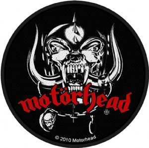 Motorhead Warpig round sew-on cloth patch  (ro)